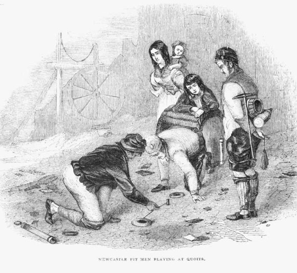 The origins of quoits