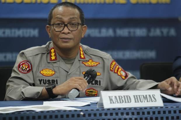 Polda Metro Jaya Ciduk 5 Komplotan Begal Sadis di Bekasi
