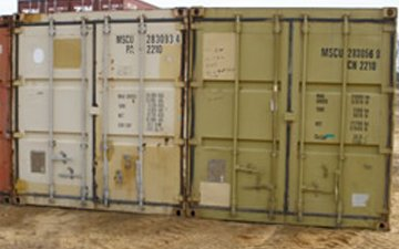 appearance condition for shipping containers