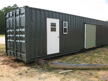 specialized 20 ft storage containers