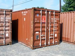 used 40 ft standard storage container