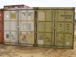 used shipping container 20 ft