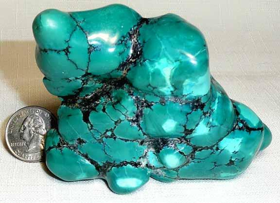 Turquoise Rock 65x80mm Blue Color Wmatrix TQ322