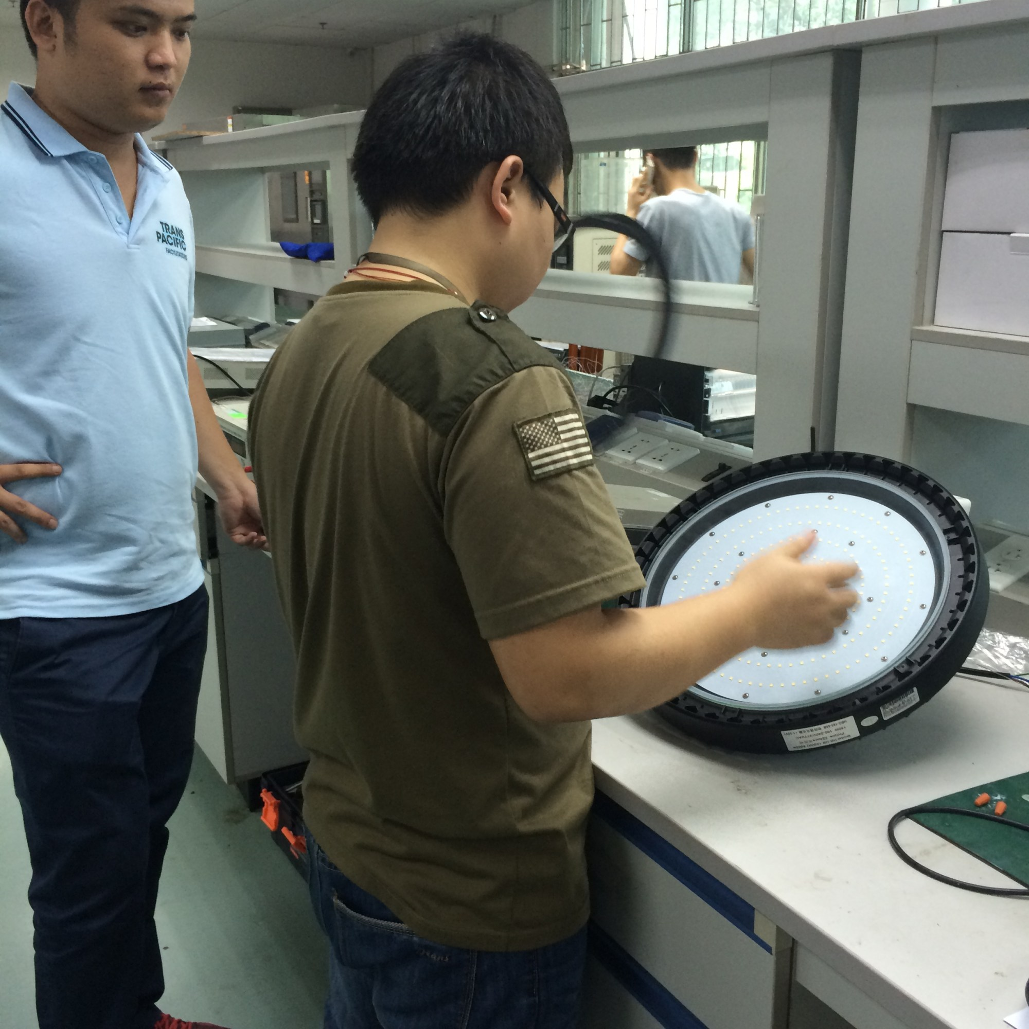 During Production Inspections