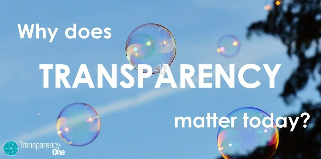 why transparency matters