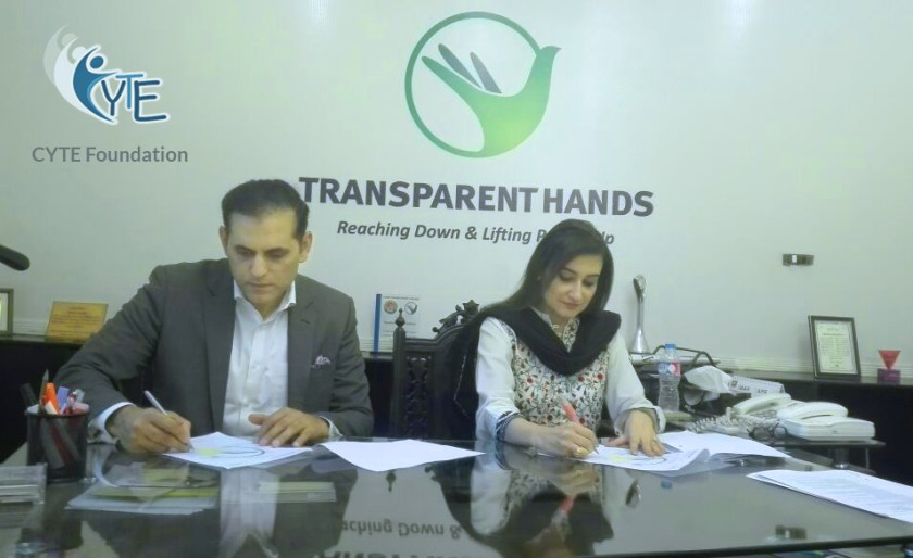 mou with  CYTE Foundation