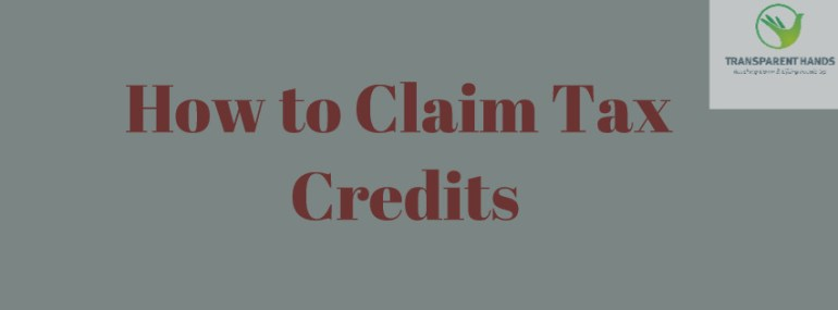 How to Claim Tax Credits - transparenthands