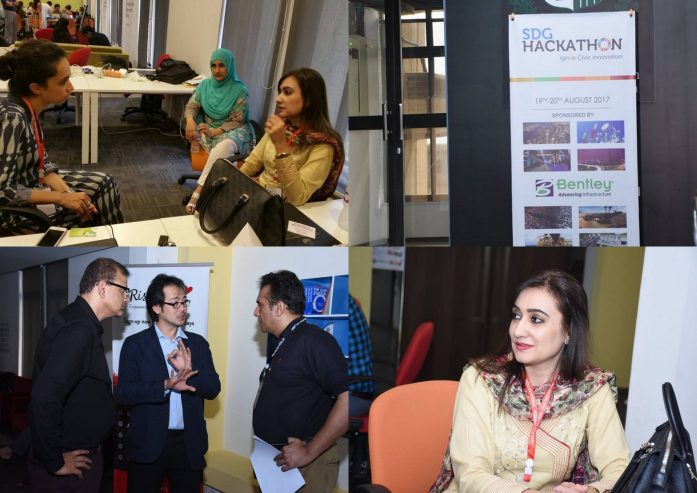 CEO Transparent Hands Rameeza Mueen Mentored at SDG Hackathon
