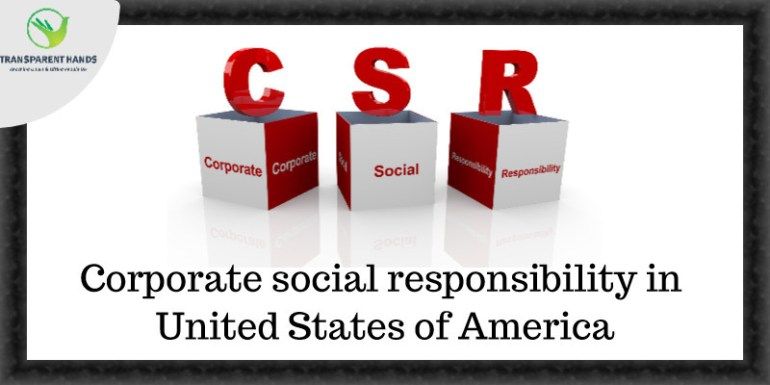 Corporate social responsibility (CSR) in United States of America