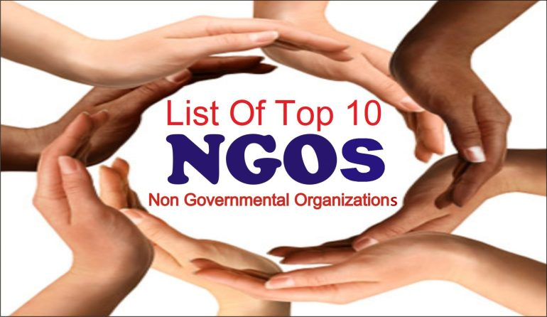List of Top 10 Non Governmental Organizations in USA
