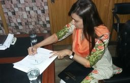 rameeza moin signing mou
