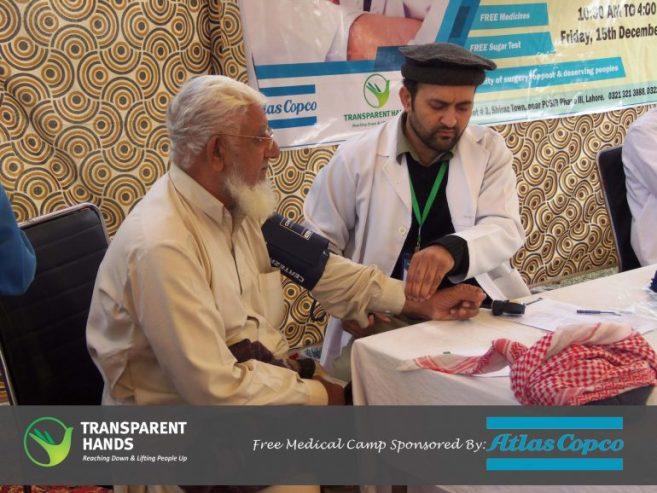 Medical Camp in Sheraz Town