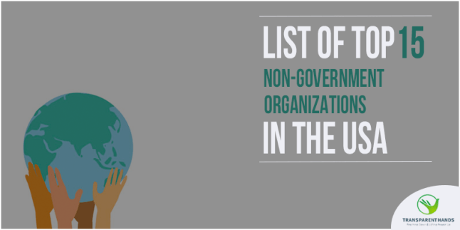 List of Top 15 Non-Government Organizations in the USA