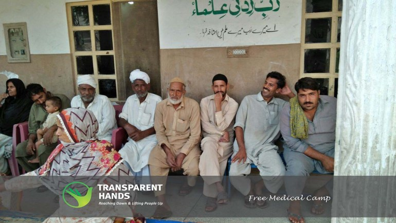 Free Medical Camp in Kot Asadullah Khan
