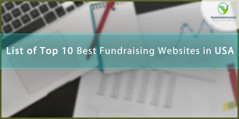 List of Top 10 Fundraising Websites in USA