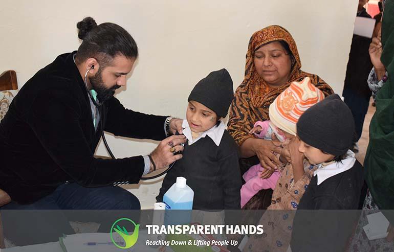 Camp sponsored by Qazi Foundation
