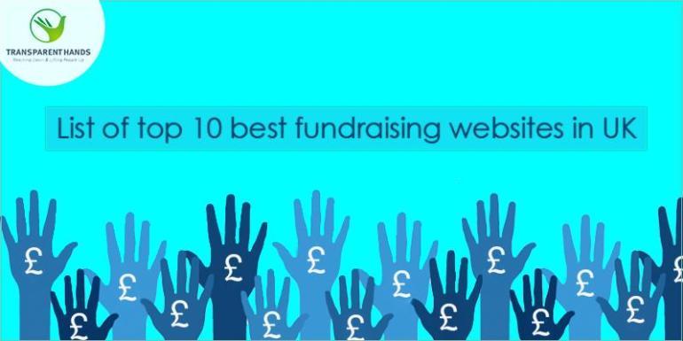 List of Top 10 Best Fundraising Websites in UK
