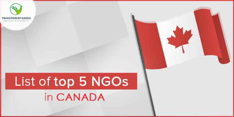 List of Top 5 NGOs in Canada