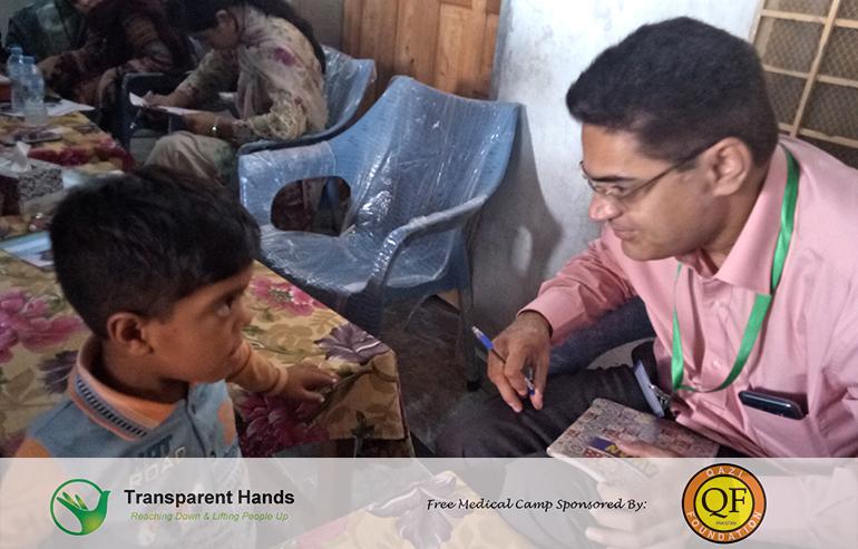 Medical Camp by Qazi Foundation