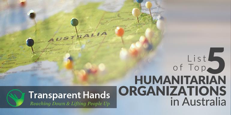 List of Top 5 Humanitarian Organizations in Australia