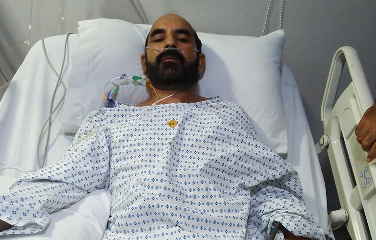 open heart surgery of khalid