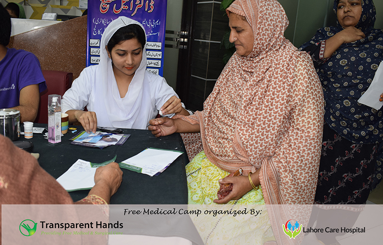 Transparent Hands and Lahore Care