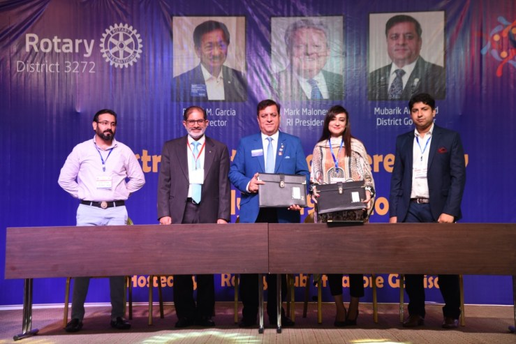Transparent Hands Partners with Rotary International