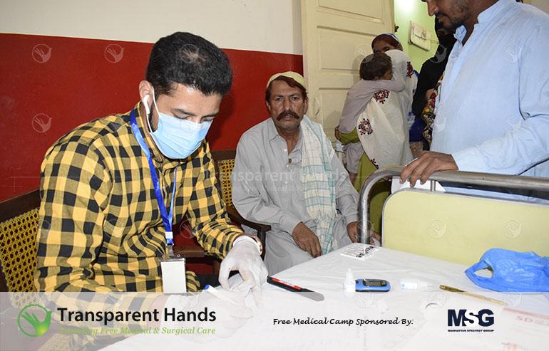 Medical Camp in Jacobabad