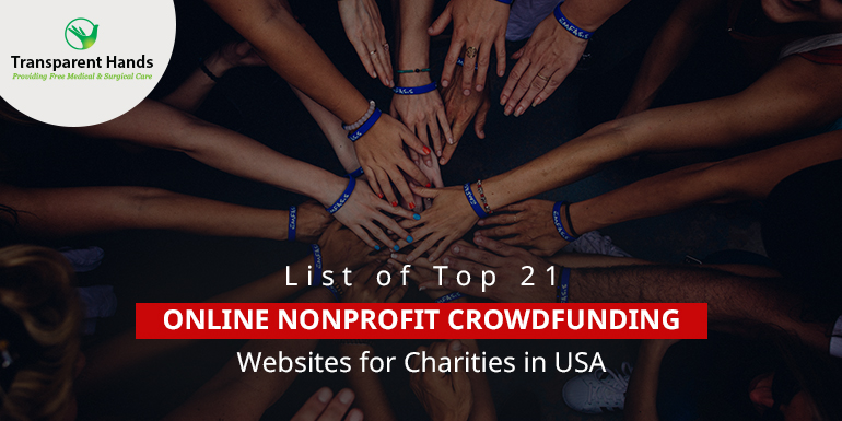 List of Top 21 Online Nonprofit Crowdfunding Websites for Charities in USA