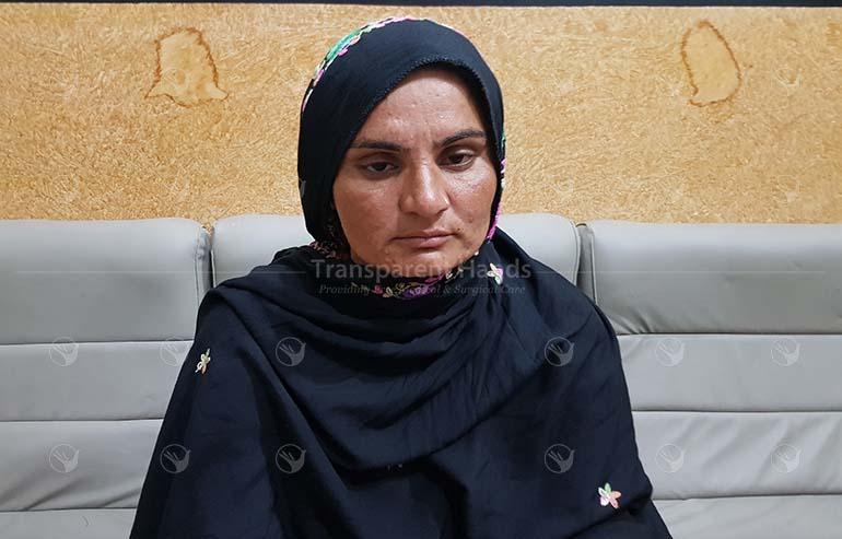 Asiya Bibi wife of Ajmal Kamal
