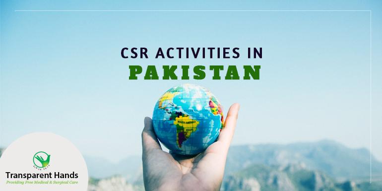 CSR Activities in Pakistan