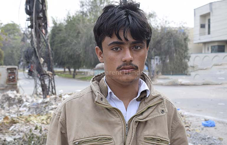 Donate for Sharjeel Abbas's Excisional Biopsy