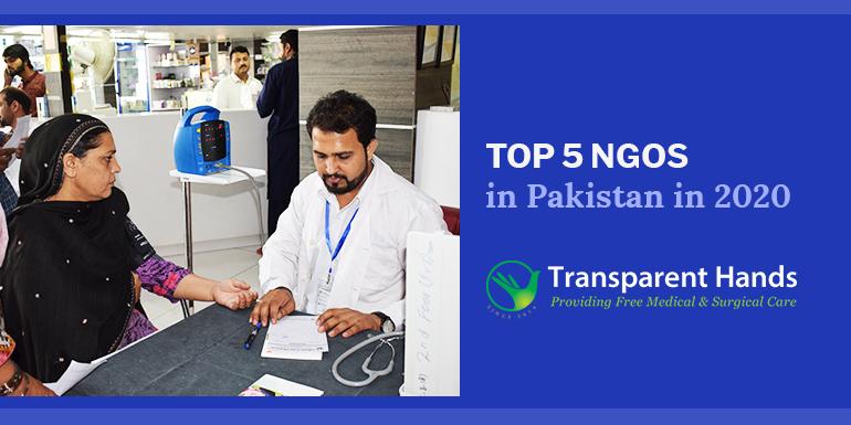 Top 5 NGOs in Pakistan in 2020