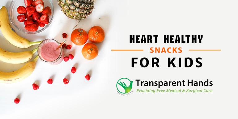 Heart Healthy Snacks for Kids