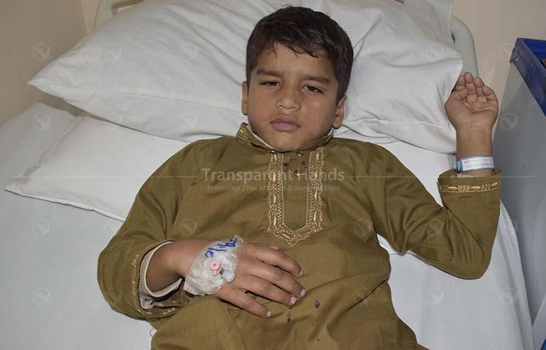 Muhammad Fazzal's Surgery Was Successful