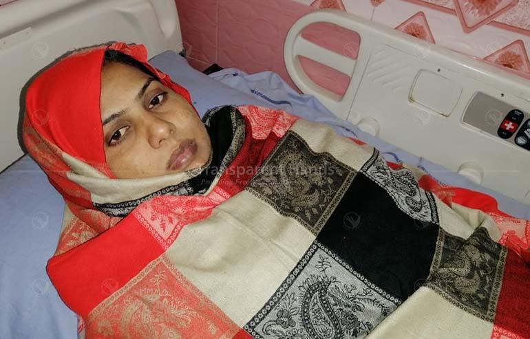 Shazia is no longer in pain
