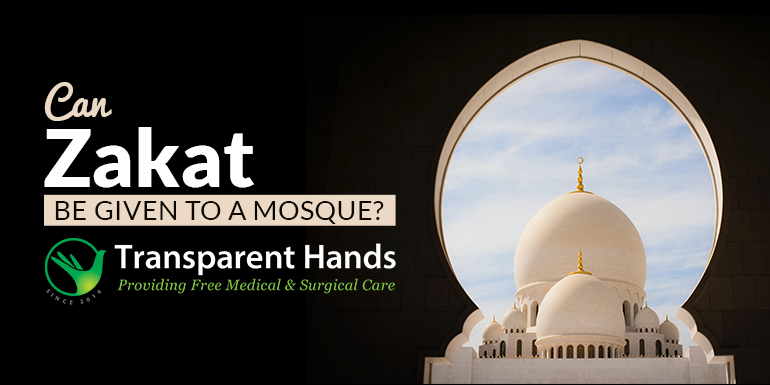 Can Zakat be given to a mosque
