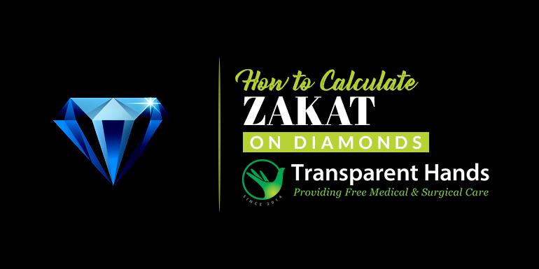 How to calculate zakat on diamonds
