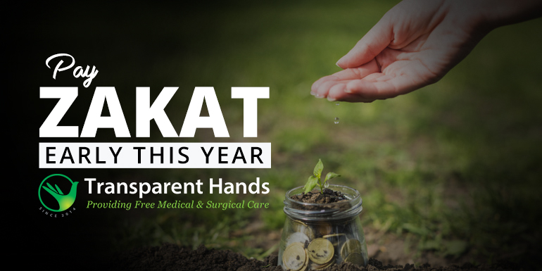 Pay Zakat Early This Year