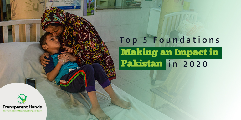 Foundations Making an Impact in Pakistan in 2020