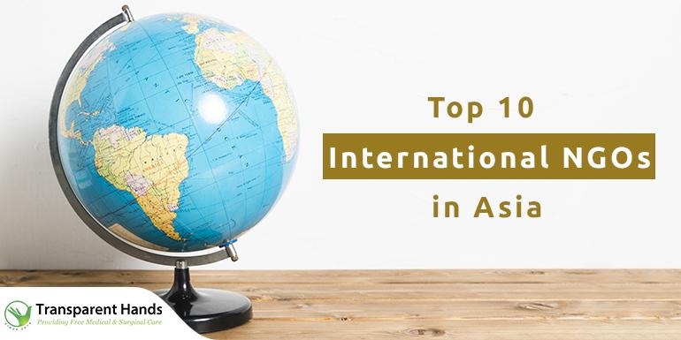 International NGOs in Asia