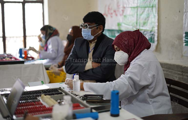 Medical Camp at Kot Lakhpat