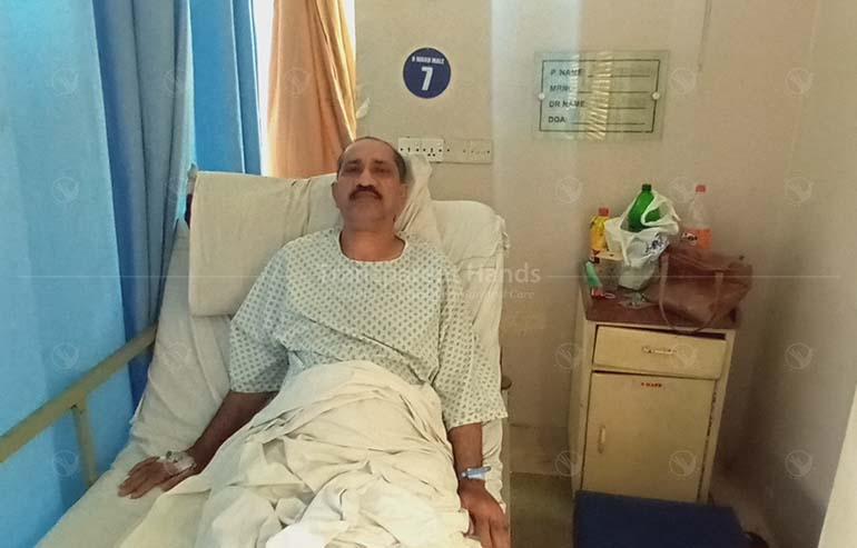 Ahmad Khan's Right Total Hip Replacement