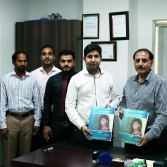 Transparent Hands singed an MoU with Central Park Teaching Hospital