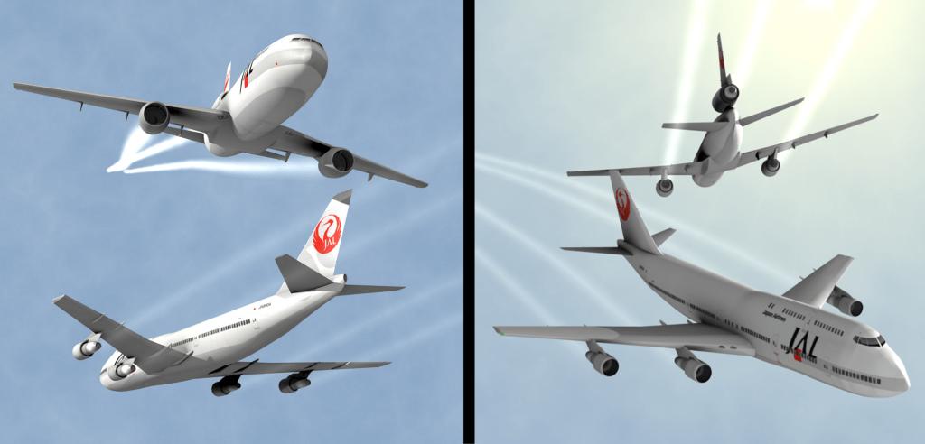 Incidente Japan Airlines 2001 Midair