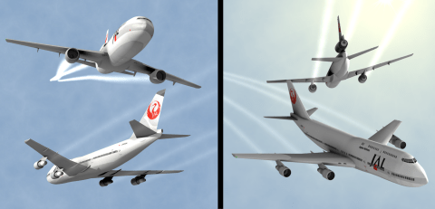 Incidente Japan Airlines 2001 Midair