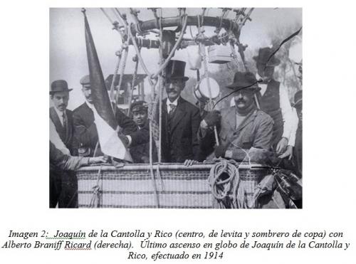 Imagen2TextoLuisGaxiola. Último vuelo de Joaquín de la Cantolla. Archivo SMEAL.