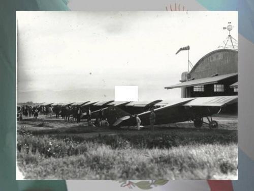 historia de la aviacion en mexico