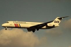 SAS SCANDINAVIAN-DOUGLAS-DC-9