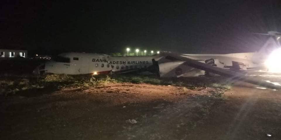 Resultado de imagen para air crash Biman Bangladesh 8 Q400